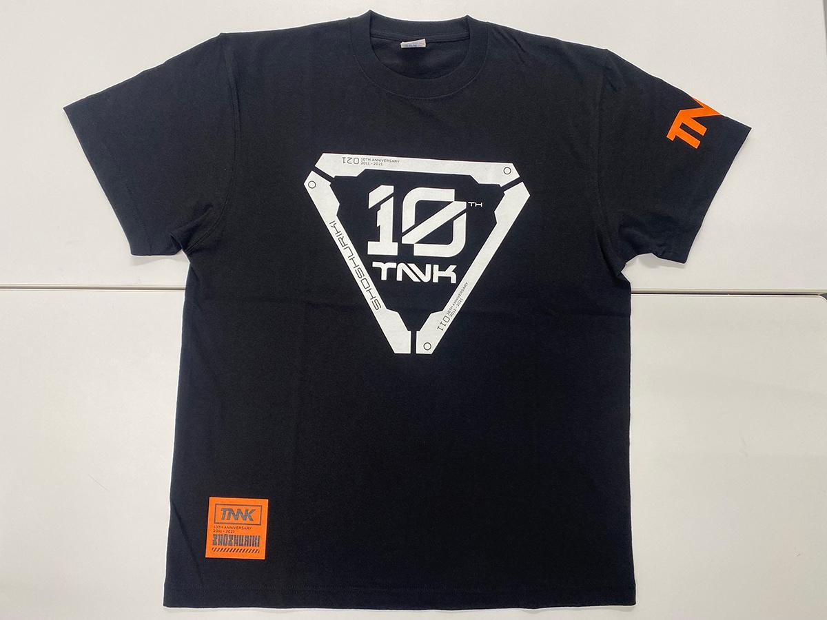 西川さんのツアーTシャツデザイナーさんに作っていただいたオリジナル消臭力Tシャツ