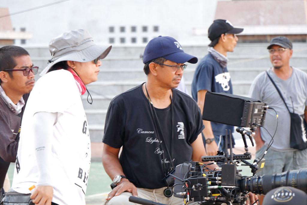 世界的カメラマンのワン氏と 現場を仕切るリット氏