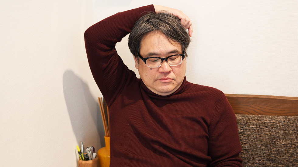 作曲後、音響の調整を行うのはレコーディングエンジニアの花島氏
